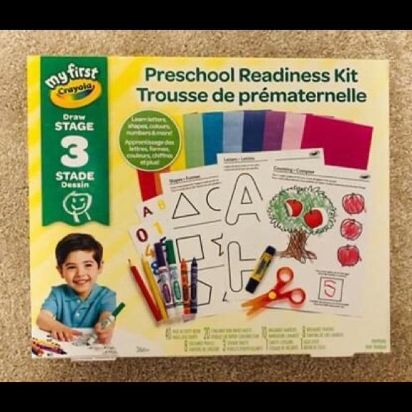 Crayola Preschool Readiness Kit Art Supplies